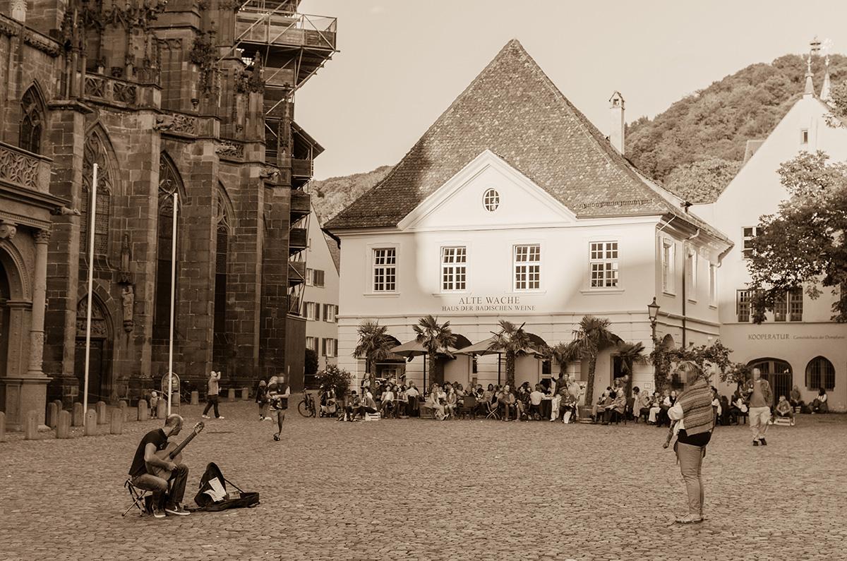 Münsterplatz-Freiburg-Alte-Wache