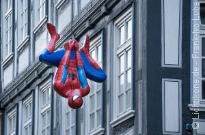 Spiderman im Urlaub